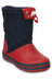 Crocs Crocband LodgePoint Boots Kids Navy/Red